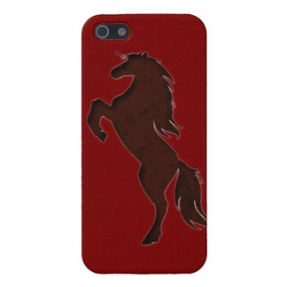 rearing horse iPhone 5 cover