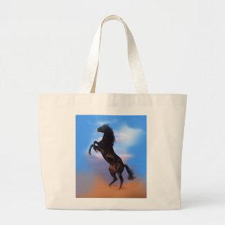Rearing Horse Jumbo Tote Bag