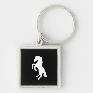 """Rearing Horse"" Keychain"