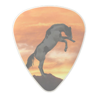 Rearing Horse Polycarbonate Guitar Pick