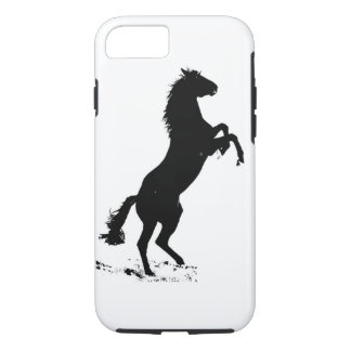 Rearing Horse Silhouette iPhone 7 Case