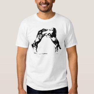 Rearing Horses T Shirt