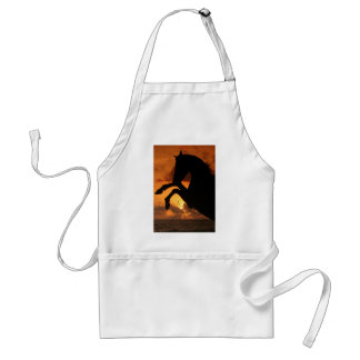 Rearing in the Sunset Adult Apron