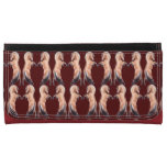 Rearing Norwegian Fjord Horse Leather Wallet