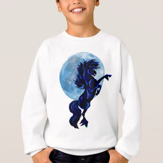 Rearing Stallion and Blue Moon Shirts