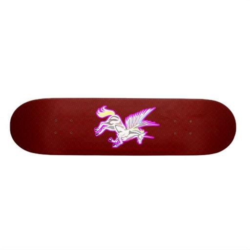 Rearing Unicorn Guardian Angel Skate Decks