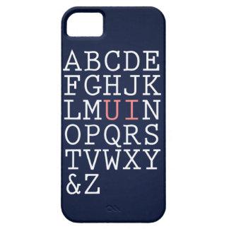 Rearrange The Alphabet iPhone 5 Cover