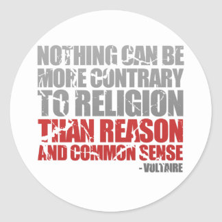 Reason and Common Sense Stickers