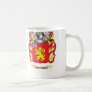 Reason Coat of Arms Family Crest Mugs