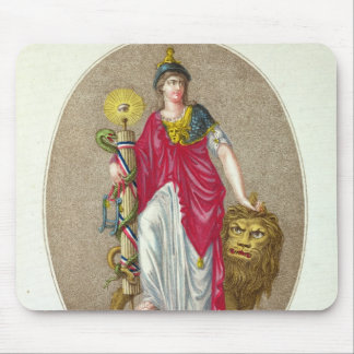 Reason, engraved by Carre, 1793 Mouse Mat
