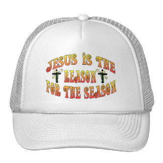 Reason For The Season Easter Mesh Hat