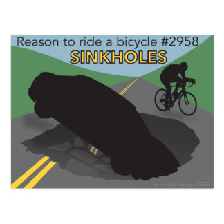 Reason to Ride a Bicycle #2958... Postcard