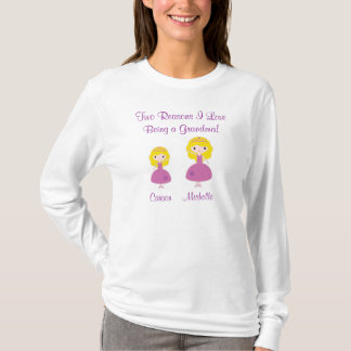 Reasons I love being a Grandma - Pink T-Shirt