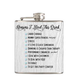 Reasons I Need This : Flask
