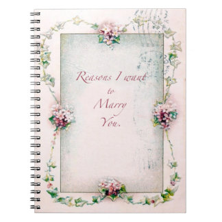 Reasons to Marry You Notebook