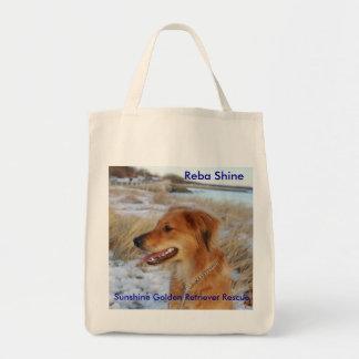 REBA SHINE  Tote/Shop Bag - Sunshine Goldens