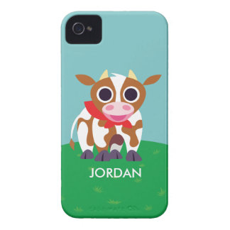 Reba the Cow iPhone 4 Case-Mate Case
