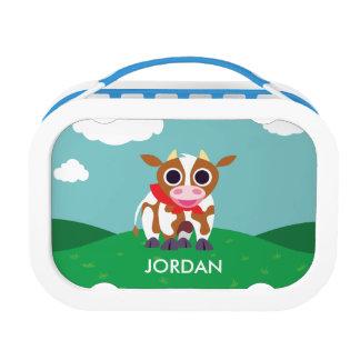 Reba the Cow Lunch Box