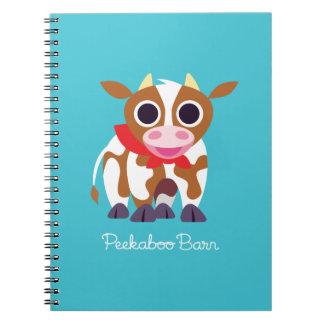Reba the Cow Spiral Notebook