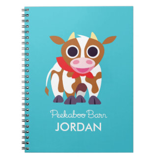 Reba the Cow Spiral Notebooks