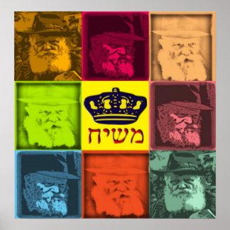 Rebbe Pop Art Poster