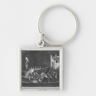 Rebecca and Eliezer at the well Key Ring
