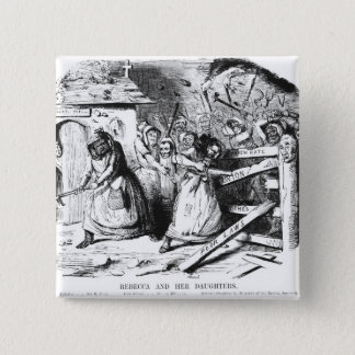 Rebecca and her Daughters 15 Cm Square Badge