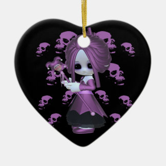 Rebecca Little Gothic Christmas Ornament