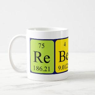 Periodic table mugs coffee mugs cups zazzle uk rebecca periodic table name mug urtaz Choice Image