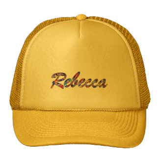 Rebecca Solid Yellow Mesh Cap