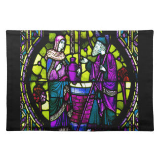 Rebecca Stained Glass Placemats