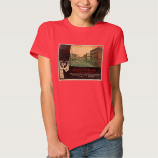 Rebecca's Grave Lobby Card T-Shirt