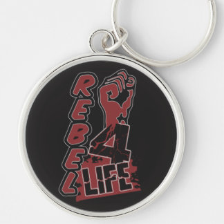 REBEL 4 LIFE custom color key chain