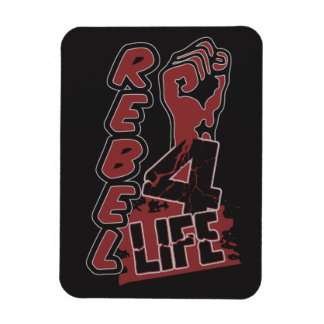 REBEL 4 LIFE custom color magnet