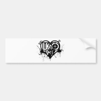 Rebel At Heart Bumper Sticker