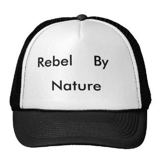Rebel, By, Nature Mesh Hats