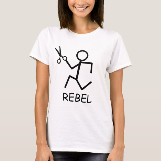 Rebel Running Scissors T-Shirt