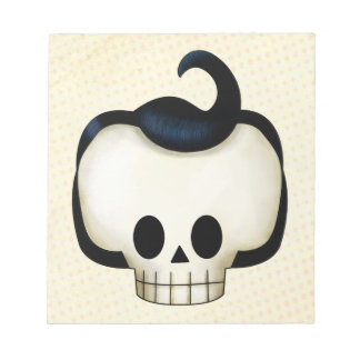 Rebel Skull Notepad