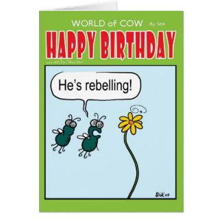Rebellion Greeting Card