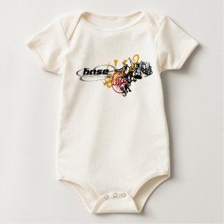 Rebellion Skateborders Illustration baby t-shirts