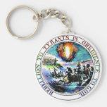 Rebellion To Tyrants Thomas Jefferson Great Seal Key Chains