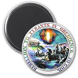 Rebellion To Tyrany Thomas Jefferson Great Seal Magnet