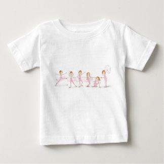 Rebellious Ballerina Baby T-Shirt