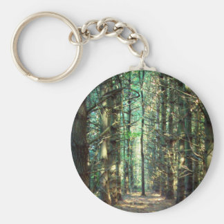 Rebellious Tree Photo Key Ring