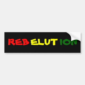 REBELUTION BUMPER STICKER