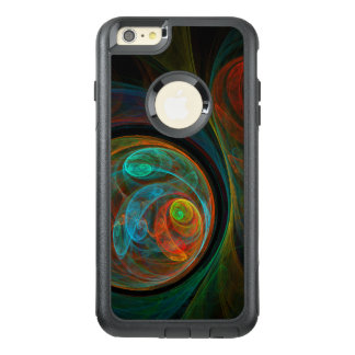 Rebirth Blue Abstract Art Commuter OtterBox iPhone 6/6s Plus Case