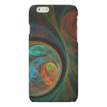 Rebirth Blue Abstract Art iPhone 6 Plus Case