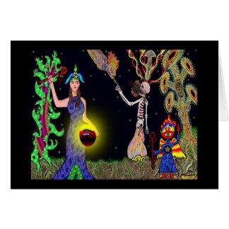 Rebirth Ceremony Card