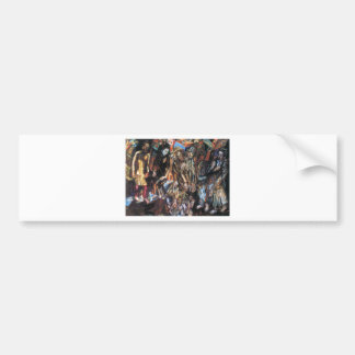 Rebirth of the People by Pavel Filonov Bumper Sticker