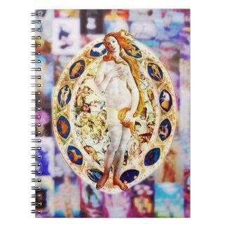 Rebirth of Venus Notebook